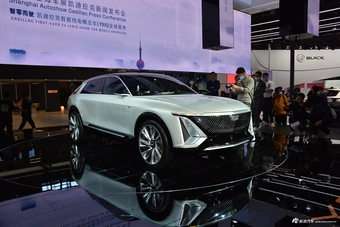 2021上海车展实拍:Lyriq
