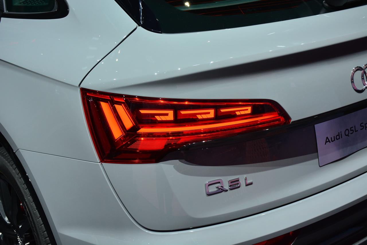 2020广州车展实拍:奥迪Q5L Sportback