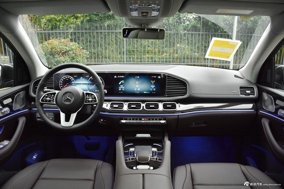 2020款奔驰GLS级3.0T 450 4MATIC动感型
