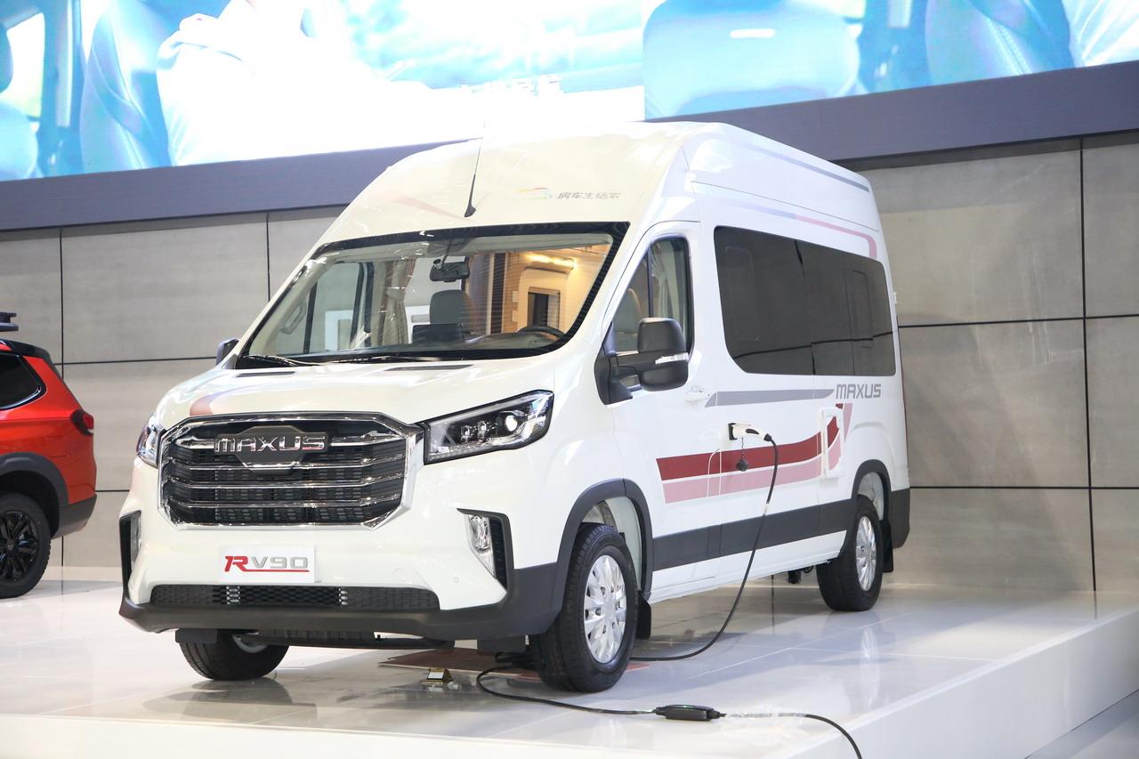 2019广州车展实拍:上汽MAXUS RV90