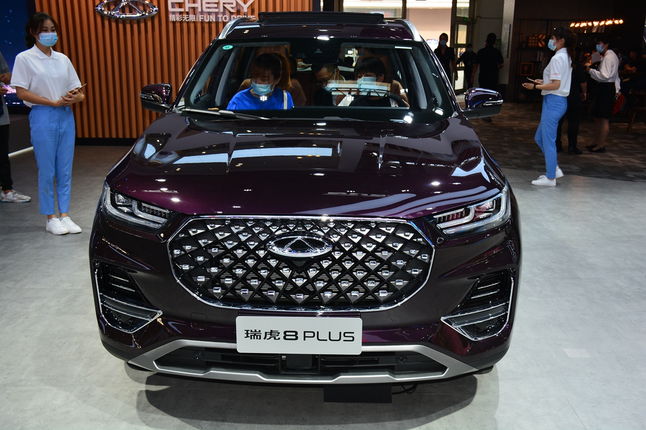 2020北京车展实拍:瑞虎8 PLUS