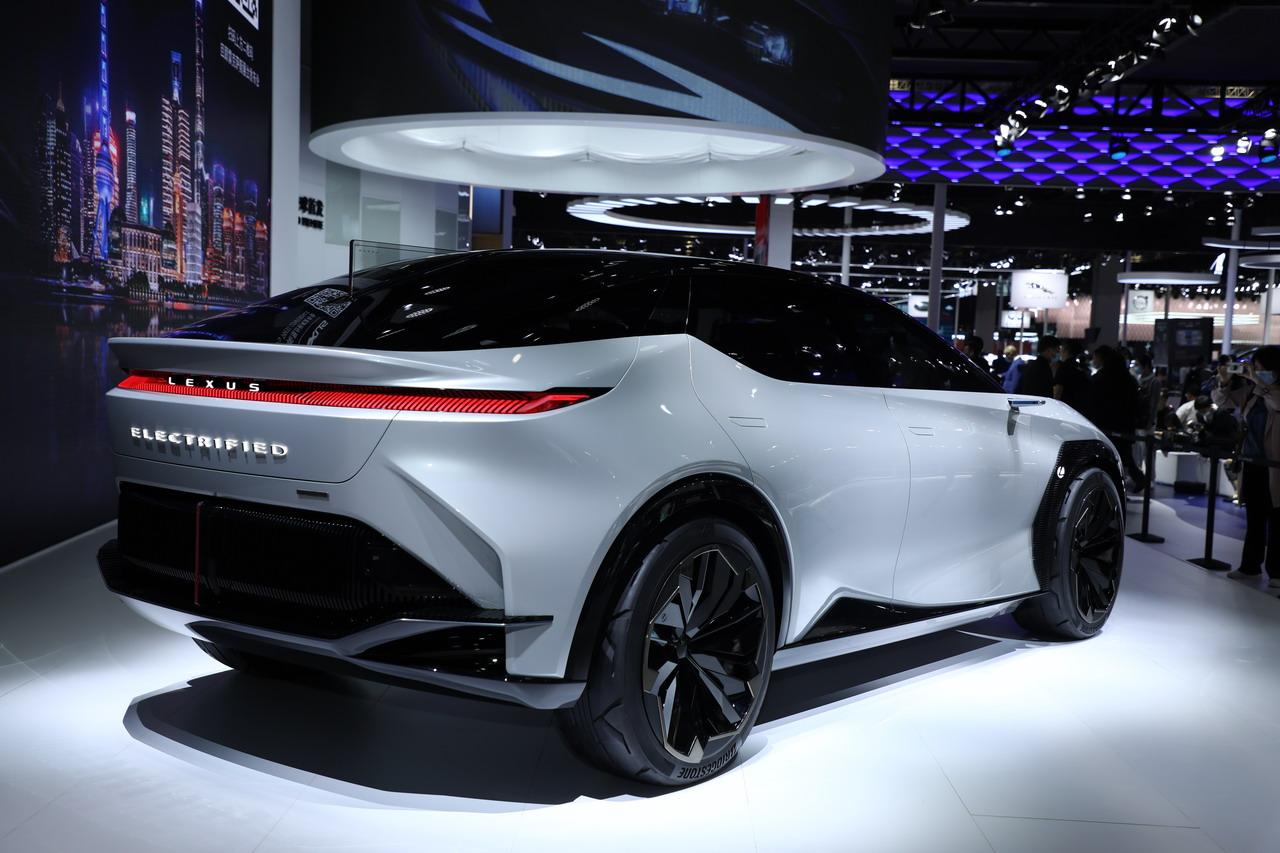2021上海车展:雷克萨斯LF-Z Electrified