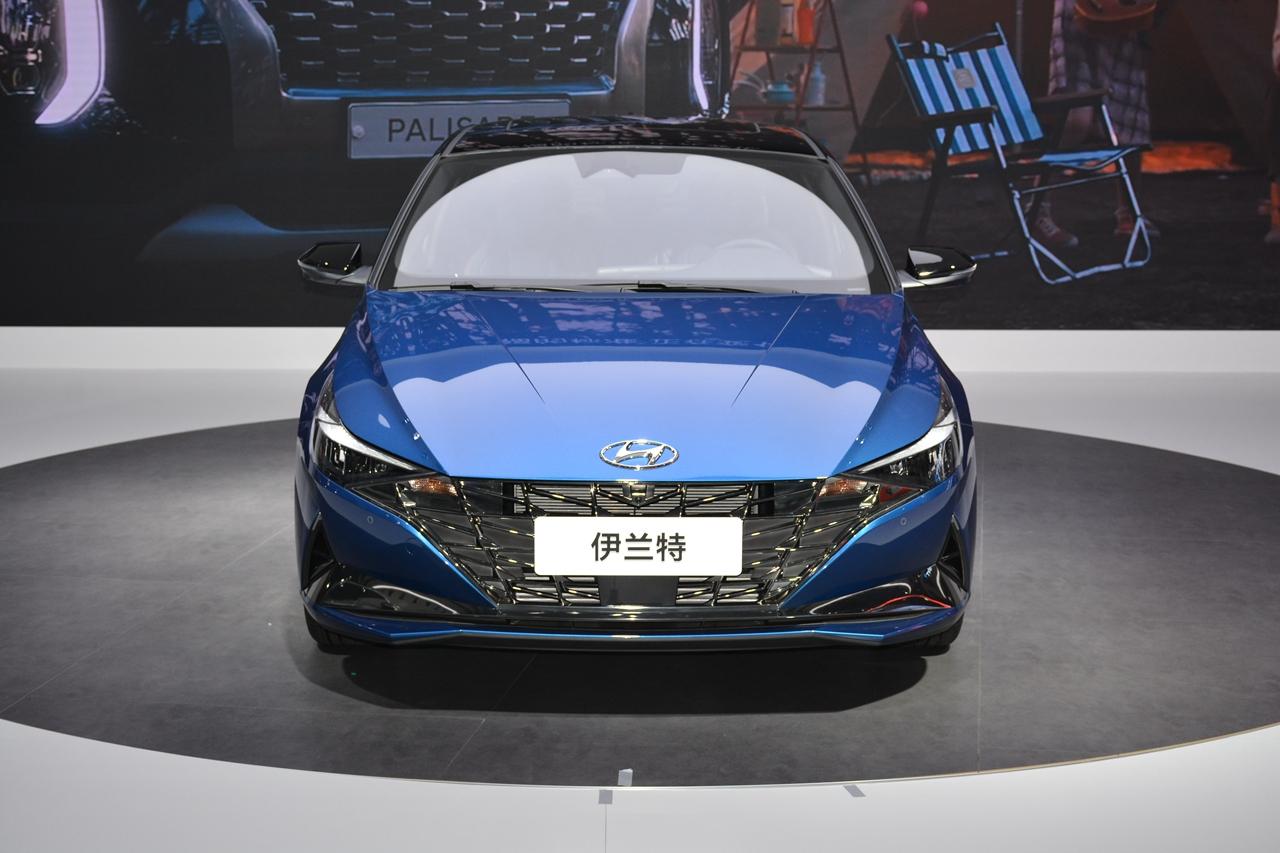 2020北京车展实拍:伊兰特