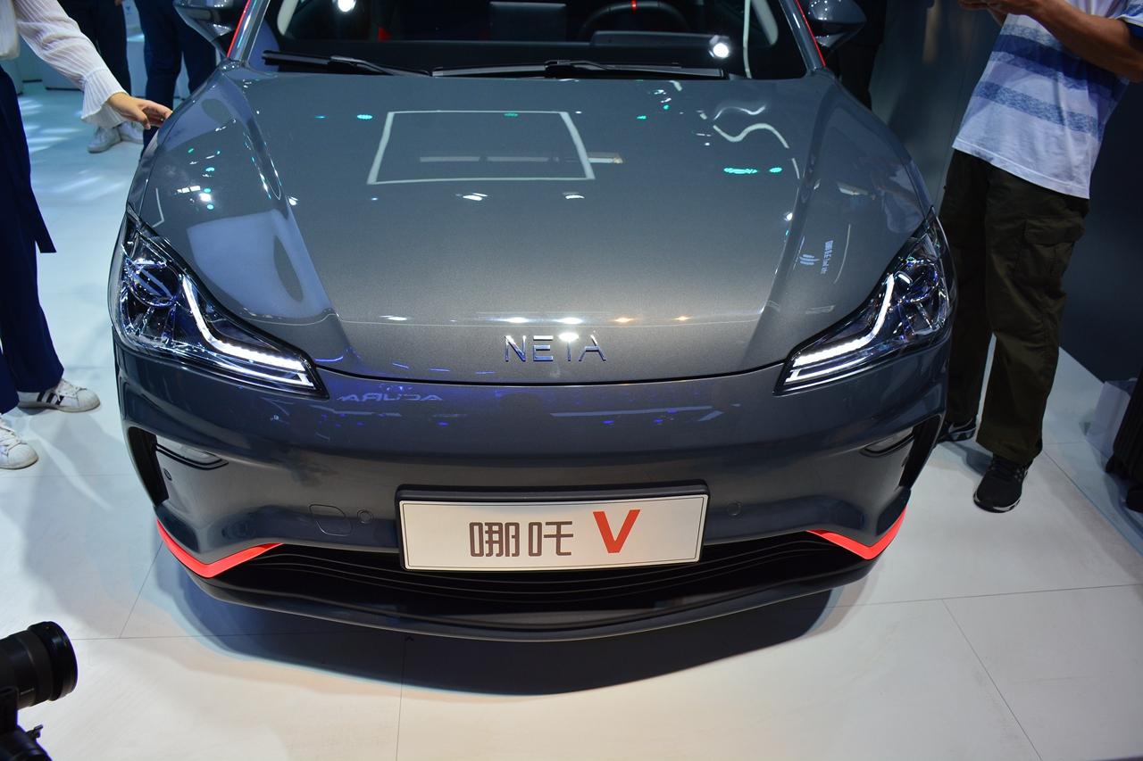 2020北京车展实拍:哪吒V