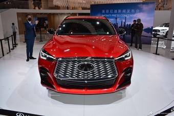 2021上海车展实拍:QX55